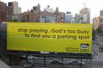 billboard reklamowy w języku angielskim