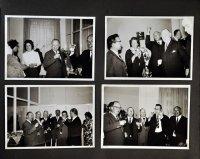 strona albumu z czaro-białymi zdjęciami