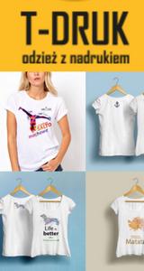 koszulki z własnym nadrukiem tanio w TDruk